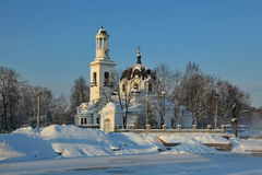 Church of St. Alexander Nevsky Royalty Free Stock Photo