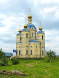 Church of St. Alexander Nevsky. Church of the most Orthodox Prince St. Alexander Nevsky (location: Lugansk, Ukraine Stock Images