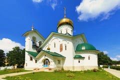 Church of St. Alexander Nevsky. Ashukino village. Royalty Free Stock Image