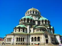 Church of St. Alexander Nevsky. stock images
