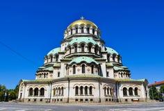Church of St. Alexander Nevsky. royalty free stock image