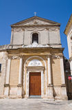 Church of St. Alfonso. Francavilla Fontana. Puglia. Italy. Stock Photo