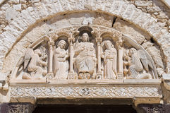 Church of St. Andrea. Barletta. Puglia. Italy. Royalty Free Stock Photos