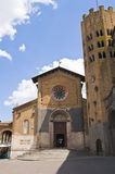 Church of St. Andrea. Orvieto. Umbria. Italy. Royalty Free Stock Images