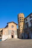 Church of St. Andrea. Orvieto. Umbria. Italy. Royalty Free Stock Photography