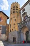 Church of St. Andrea. Orvieto. Umbria. Italy. Royalty Free Stock Image