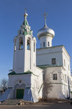 Church of St. Andrew the Apostle in Vologda Stock Image