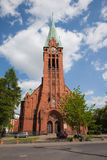 Church of St. Andrew Bobola in Bydgoszcz Stock Image
