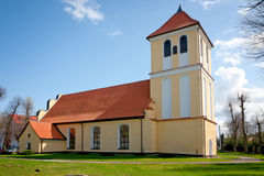 Church of St Andrew Bobola -Rydzewo Stock Photo