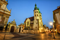 Church of St Andrew, Krakow Old Town, Poland Royalty Free Stock Image