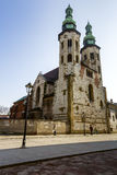 Church of St. Andrew in Krakow Royalty Free Stock Photography