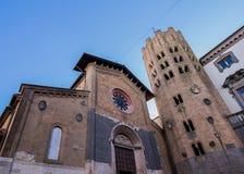 Church of St. Andrew in Orvieto Stock Photo