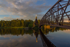 The Church of St. Andrew on Vuoksa, Karelian isthmus, Leningrad oblast ,Russia Stock Photo