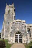Church of St Andrew, Walberswick, Suffolk, England Royalty Free Stock Photos