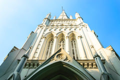 Church. St. Andrews Cathedral diocesan in Singapore Stock Photography