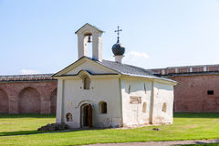 Church of St. Andrey Stratilat in Veliky Novgorod, Russia Stock Photography