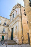 Church of St. Anna. Lecce. Puglia. Italy. Royalty Free Stock Photo