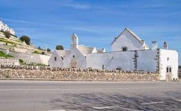 Church of St. Anna. Locorotondo. Puglia. Italy. Royalty Free Stock Image