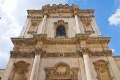 Church of St. Anna. Mesagne. Puglia. Italy. Stock Photos