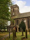 The Church of St Anne in Fence Lancashire England Royalty Free Stock Photos