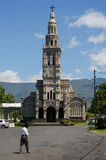 The church of St. Anne on La Reunion island Stock Images