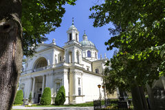 Church of St. Anne, Wilanow, Warsaw Royalty Free Stock Images