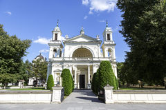 Church of St. Anne in Wilanow, Warsaw Stock Photo