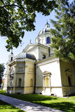 Church of St. Anne in Wilanow in Warsaw, Poland Stock Images