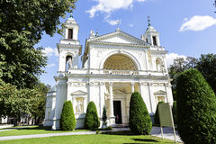 Church of St. Anne in Wilanow, Warsaw, Poland Stock Photography