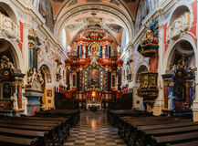 Church of St. Anthony Franciscan in Poznan, Poland Stock Photography