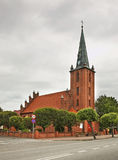 Church of St. Anthony in Kuznica. Poland Stock Photos