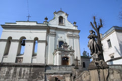 Church of St. Anthony in Lvov Royalty Free Stock Photos