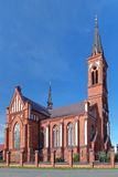 Church of St. Anthony of Padua in Pastavy, Belarus Stock Image
