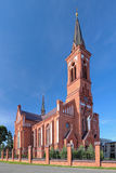 Church of St. Anthony of Padua in Pastavy, Belarus Royalty Free Stock Photo
