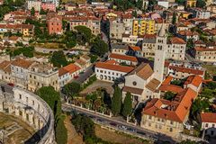 Church of St. Anthony, Pula Stock Photography