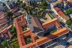 Church of St. Anthony, Pula Stock Photos