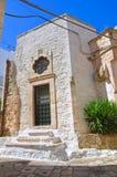 Church of St. Antonio abate. Ceglie Messapica. Puglia. Italy. Royalty Free Stock Photography