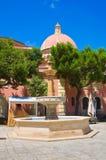 Church of St. Antonio. Fasano. Puglia. Italy. Royalty Free Stock Photos