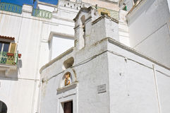 Church of St. Antonio. Ginosa. Puglia. Italy. Royalty Free Stock Photo