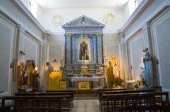 Church of St. Antonio. Pietragalla. Basilicata. Italy. Stock Photo