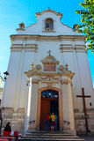 Church of St Antony in Lviv Royalty Free Stock Photography