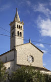 Church of St. Antun in Pula. Croatia Stock Photos