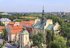 Church of St Archangel Michael in Sandomierz, Poland Royalty Free Stock Image