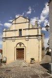 Church of St. Assunta in Galtelli. Sardinia. Italy Royalty Free Stock Photos