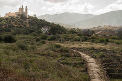 Church. The Church of St. Augustine in Algeria Annaba Stock Images