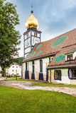 Church of St. Barbara in Barnbach, Austria Stock Photos