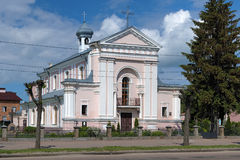 Church of St. Barbara in Berdychiv, Ukraine Stock Images