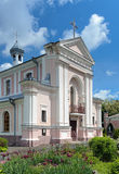 Church of St. Barbara in Berdychiv, Ukraine Royalty Free Stock Photo