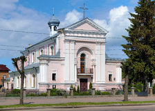 Church of St. Barbara in Berdychiv, Ukraine Stock Photography