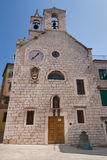 Church of St Barbara in Sibenik Stock Photo